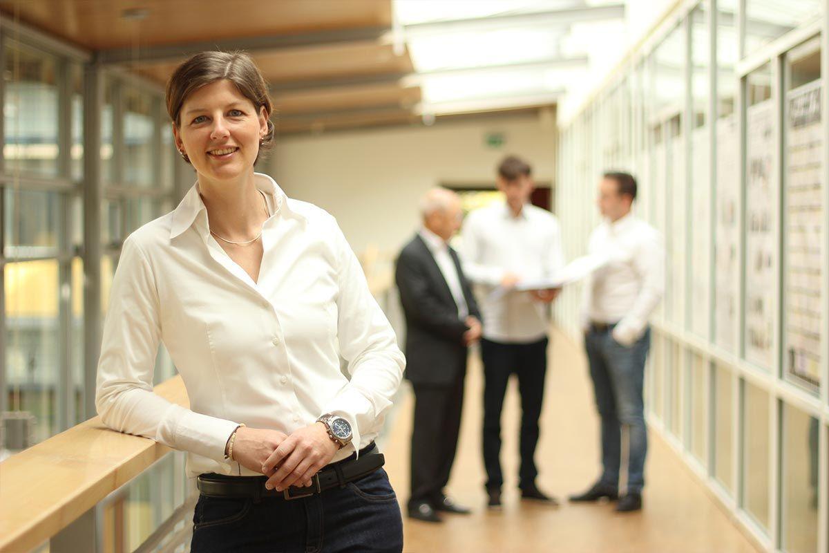 Nadine Rücker Teamleiterin Gefahrenabwehr